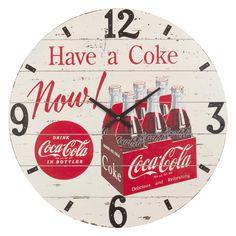 Coke Vintage Clock