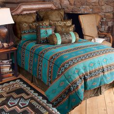 Western Bedding: Skystone Turquoise Desert Bedding Collection|Lone ...