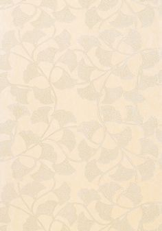 GINKGO, Cream, T724, Collection Artisan from Thibaut