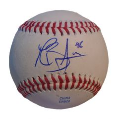 LA Dodgers Mike Bolsinger signed Rawlings ROLB leather baseball w/ proof photo.  Proof photo of Mike signing will be included with your purchase along with a COA issued from Southwestconnection-Memorabilia, guaranteeing the item to pass authentication services from PSA/DNA or JSA. Free USPS shipping. www.AutographedwithProof.com is your one stop for autographed collectibles from Los Angeles sports teams. Check back with us often, as we are always obtaining new items.
