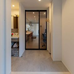 Sliding Doors, My House, Entrance, New Homes, Windows, Mirror, Interior, Room, Furniture