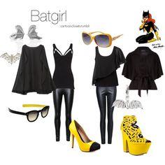 """""""Batgirl"""" by bforbel on Polyvore"""
