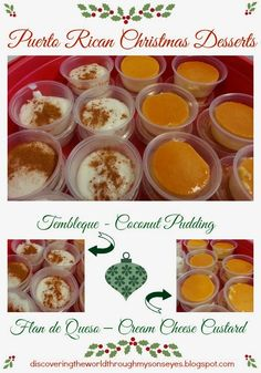 discovering the world through my sons eyes puerto rican christmas desserts tembleque and flan - Puerto Rico Christmas Traditions