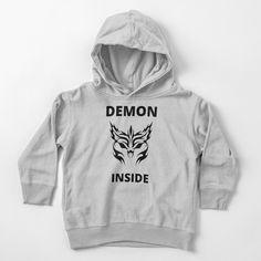 'Demon Inside' Toddler Pullover Hoodie by RIVEofficial Funny Humour, Halloween 2020, Movies And Tv Shows, Badass, Creepy, Trends, Pullover, Tags, Hoodies
