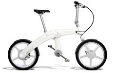 chainless folding electric bicycle by mando