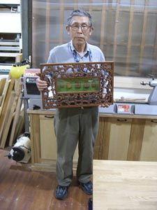 2008年5月20日 みんなの作品【額・鏡・壁飾り】|大阪の木工教室arbre(アルブル)