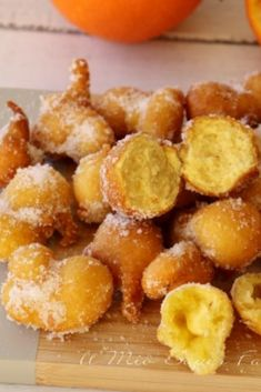 Beignets, Burritos, Italian Biscuits, Best Italian Recipes, Almond Cakes, Mediterranean Recipes, Yummy Snacks, Healthy Cooking, Nutella