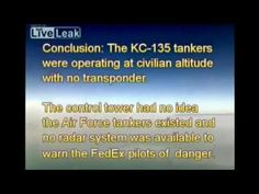 Chemtrail planes in near miss with FedEx plane - great footage - YouTube / Feb 2013 Depopulation