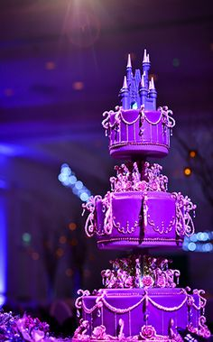 The Official Disney Weddings Blog. Perfect for my future Tangled theme wedding! lol except without the castle at the top
