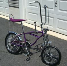 Schwinn Grape Krate Stingray 5-speed - not a motorcycle but it inspired dreams of having one someday