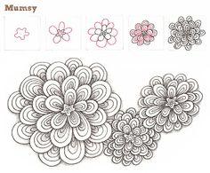 7 das Artes: Zentangle..