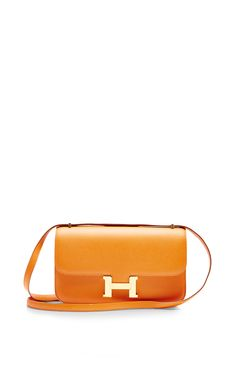 Hermes 25Cm Orange H Epsom Leather Constance Elan by Heritage Auctions Special Collection for Preorder on Moda Operandi