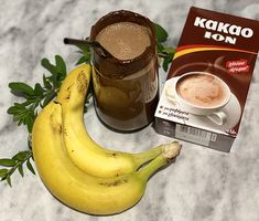 Smoothies, Banana, Chocolate, Fruit, Drinks, Recipes, Food, Things To Do, Smoothie