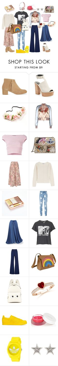 """Spring day wear"" by jenny-ragnwaldh on Polyvore featuring Maje, Rebecca Minkoff, Valentino, Alexander McQueen, Gucci, Paul & Joe, STELLA McCARTNEY, Topshop, Natasha Zinko and Anya Hindmarch"