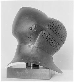 Helmet (Basinet, Visored) 1450 - Niemcy, jak u Foqueta