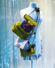 """CHANEL, """"You can always cover your weaknesses..."""", photo by Window Shoppings, pinned by Ton van der Veer"""