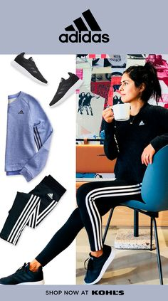 e2a545b974d3 Find adidas styles for her at Kohl s. Health and wellness influencer  Jeanette Ogden from Shut