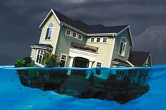 Underwater Borrowers Account for 77% of Active Foreclosures
