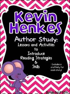 Kevin Henkes Author Study {Activities & Crafts to Introduce Reading Strategies}