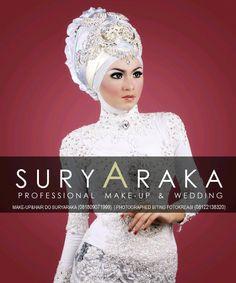 wedding hijab and dress