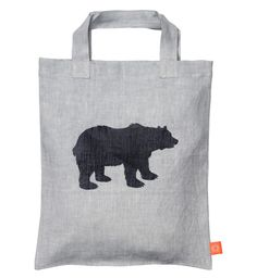Canvas Bag  Pictogram Bear