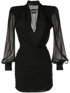 H /& r London Dos-Nu Crayon robe-Ebony 40s
