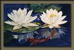 oil paintings of lilies - Google Search