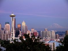 Seattle, Washington. Another place I want to visit