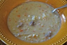 "Turkey Rice Soup - 4 points for 1 cup, plus tons of WW points recipes from ""point-less"""