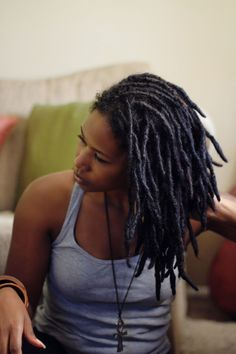 Gorgeous Shoulder Length Dreads You Must See – New Natural Hairstyles New Natural Hairstyles, Short Black Hairstyles, Trendy Hairstyles, Gorgeous Hairstyles, Short Haircut, African Hairstyles, Natural Hair Care, Natural Hair Styles, Long Hair Styles