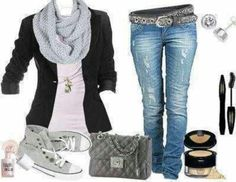 Perfect Rocker chic for the weekend!