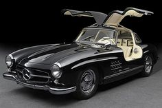 Mercedes Benz 300 SL Gullwing din 1954s