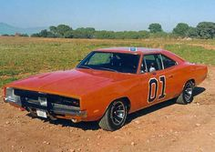 The Dukes Of Hazzard television series- 1969 Dodge Charger See more about General Lee, 1969 Dodge Charger and Dodge Chargers. Mopar, Dodge Charger 1969, Film Cars, Movie Cars, General Lee Car, Dukes Of Hazard, Automobile, Us Cars, American Muscle Cars