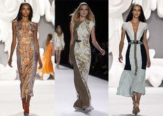 New York Fashion Week: the trends from spring/summer 2013 - CAROLINA HERRERA