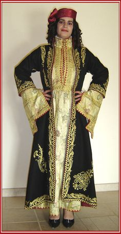 Greek Traditional Dress, Traditional Outfits, Arabian Costume, Greece Outfit, Greek Culture, Embroidered Clothes, Medieval Clothing, Fringe Dress, Folk Costume
