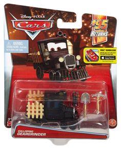 Disney Pixar Cars Galloping Geargrinder Rare Metal Diecast Vehicle Car New Loose