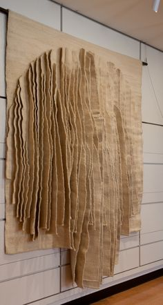 Jagoda Buic Yugoslavian 1930 tapestry weave three dimensional wool cotton silk Overall 24960 x 22860 cm 98 14 x 90 inches Gift of Alan Kennedy 2011191 Art Fibres Textiles, Textile Fiber Art, Textile Artists, Textile Texture, Sculpture Textile, Soft Sculpture, Weaving Art, Tapestry Weaving, Wall Tapestry