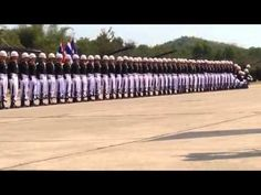 Synchronized Moves By #Thai #Soldiers At The Military Parade - #Dominoes