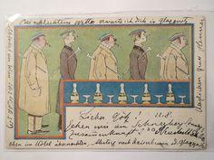 Studenten Beim Rauchen 1899 Studentika   eBay