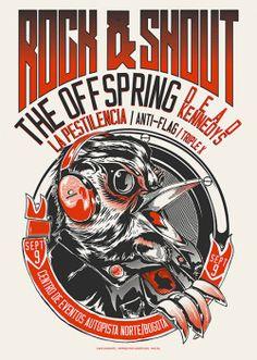 Festival Rock & Shout / Bogotá Colombia The Offspring Dead Kennedys La Pestilencia Anti Flag Triple X