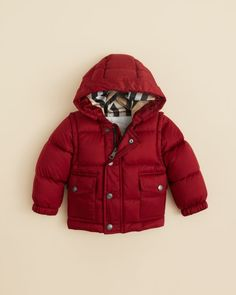 Burberry Infant Boys' Bensen Puffer Jacket - Sizes 6-18 Months