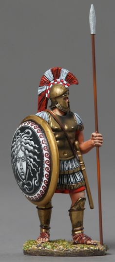 buying and selling military miniatures, toy soldiers and vehicles Ancient Romans, Ancient Art, Ancient History, Greek Warrior, Fantasy Warrior, Athena Goddess Of Wisdom, Greek Helmet, Medieval, Greek History
