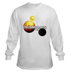 COLLIDING ORBITS Long Sleeve Top * Colliding Orbits artwork © Copyright 2012 T. S. Fox