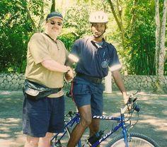 Jamaica police bike patrol