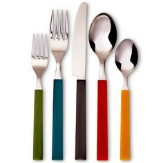 Room Essentials�?� Evan 20 Piece Square Handle Flatware Set - Multicolor