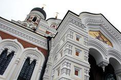 #Catedral de #Tallinn - Tallinn, capital da #Estónia, no golfo da Finlândia, nas margens do Báltico, é um lugar muito apreciado pelos turistas, pelo ambiente medieval ali recriado