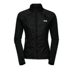The North Face Animagi Jacket - great for cold days. I've used it with a l/s tech shirt on a 20-degree day and been toasty. Windproof - waterproof - thumb holes - flexible - love it!