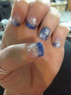 39 Best Winter Acrylic Nails Design for Women Fashion Nail Tip Designs, Fingernail Designs, Gel Nail Art, Acrylic Nail Designs, Nail Polish, Nails Design, Nail Nail, Art Designs, Acrylic Nails