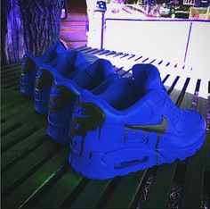 Resultado de imagen para zapatos azul tumblr