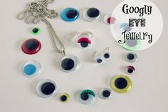 Googly Eye Jewelry via makeandtakes.com #MichaelsStores